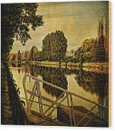 Lachine Canal Wood Print