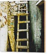 Ladder To Wood Print