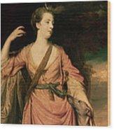 Lady Dawson Wood Print