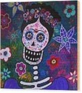 Lady Frida Wood Print