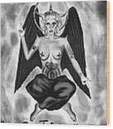 Lady Gaga Baphomet  Wood Print by Kenal Louis