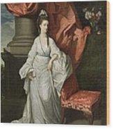 Lady Grant - Wife Of Sir James Grant Wood Print