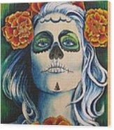 Lady Marygold Wood Print