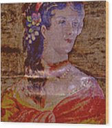 Lady Of The House Wood Print
