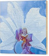 Lady Orchid The Sky Beckons Wood Print