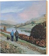 Ladybower Reservoir - Derbyshire Wood Print