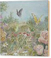Ladybug Wood Print by Dorothy Herron
