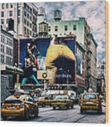 Lafayette And Houston Nyc Wood Print by Chris Lord