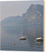 Lago Di Lugano Wood Print