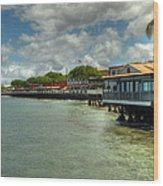 Lahaina Postcard 4 Wood Print