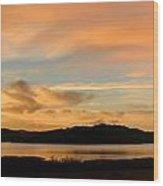 Lake Casitas Sunrise Wood Print