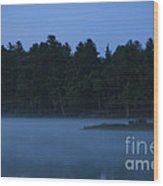 Lake Dennison Sunrise 1 Wood Print