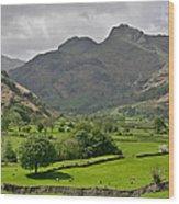 Lake District England Wood Print