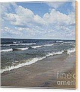 Lake Erie At Evangola State Park Wood Print