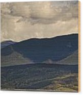 Lake Granby Rocky Mountain National Park Colorado Wood Print