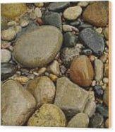 Lake Huron Rocks Wood Print