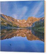 Lake Isabelle Wood Print
