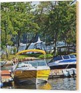 Lake Living 2 Wood Print