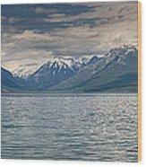 Lake Mcdonald Panorama Wood Print