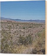 Lake Mead Nevada Wood Print