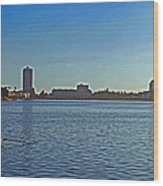 Lake Merrit Wood Print