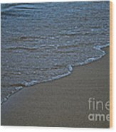 Lake Michigan Beach Wood Print