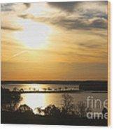 Lake Monona Wood Print