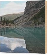 Moraine Lake - Lake Louise, Alberta Wood Print