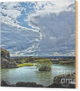 Lake Myvatn - Iceland Wood Print