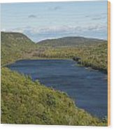 Lake Of The Clouds 1 Wood Print