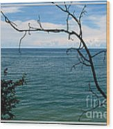 Lake Ontario Near Chimney Bluffs Wood Print
