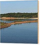 Lake Sardis One Wood Print
