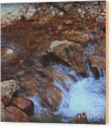 Lake Shasta Waterfall  Wood Print