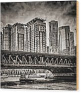 Lake Shore Drive Lsd Wood Print