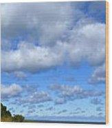 Lake Superior At Whitefish Bay Wood Print
