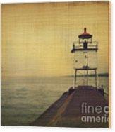 Lake Superior Classic Wood Print