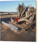 Lake Superior Wood Print