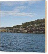 Lake Superior Pictured Rocks 22 Wood Print