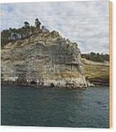 Lake Superior Pictured Rocks 27 Wood Print