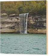 Lake Superior Pictured Rocks 48 Wood Print