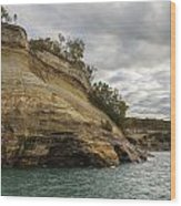 Lake Superior Pictured Rocks 53 Wood Print