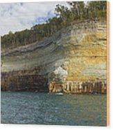 Lake Superior Pictured Rocks 8 Wood Print