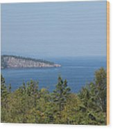 Lake Superior Shovel Point 2 Wood Print