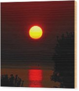 Lake Superior Sunrise Wood Print