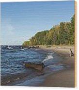 Lake Superior Union Bay 4 Wood Print
