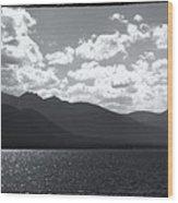 Lake Tahoe Heavenly Wood Print