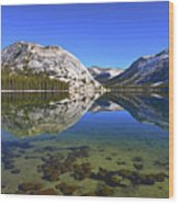 Lake Tenaya Wood Print