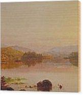 Lake Wawayanda Wood Print