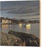 Lake Windermere Ambleside, Cumbria Wood Print