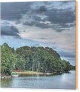 Lakeside 2 Wood Print